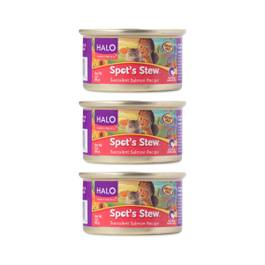 Spot's Stew Succulent Salmon Canned Cat Food, 3 Pack