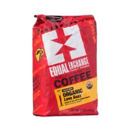 Organic Love Buzz Coffee, Whole Bean