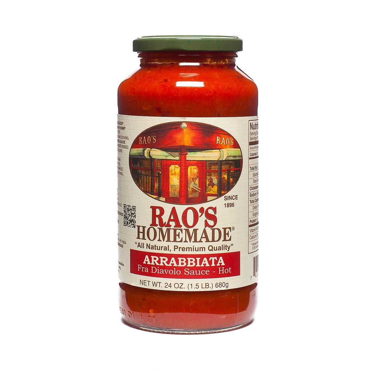 24 oz Hot Arrabbiata Fra Diavolo Sauce by Raos - Thrive Market