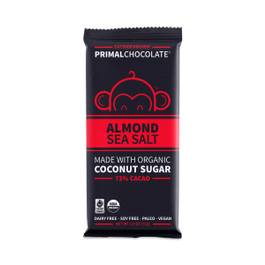 72% Almond & Sea Salt Primal Chocolate