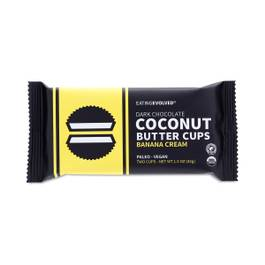 Banana Cream Dark Chocolate Coconut Butter Cups