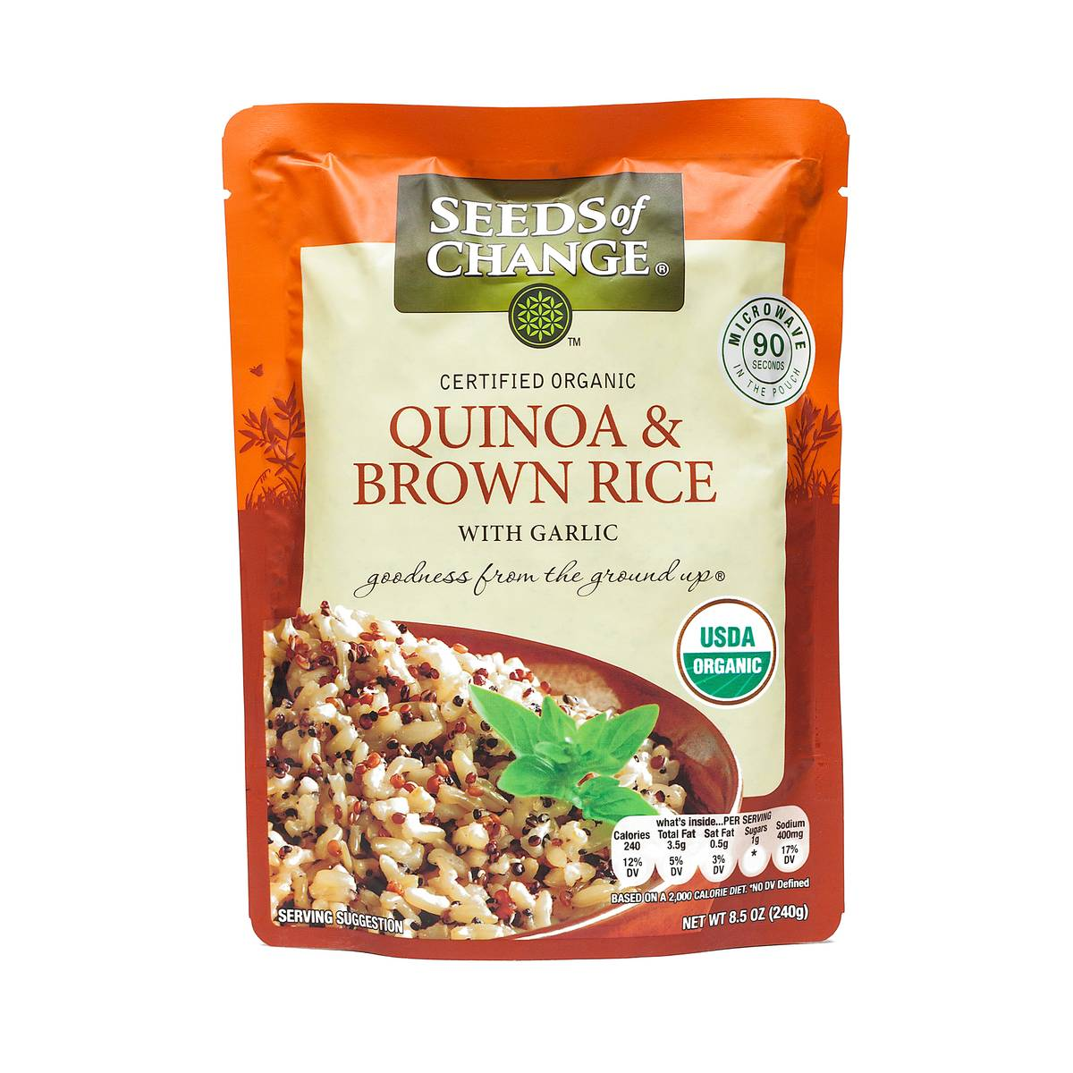 Quinoa & Garlic Brown Rice by Seeds of Change - Thrive Market