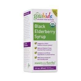 GaiaKids Black Elderberry Syrup