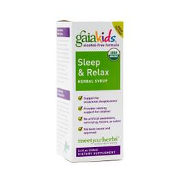 GaiaKids Sleep & Relax Herbal Syrup