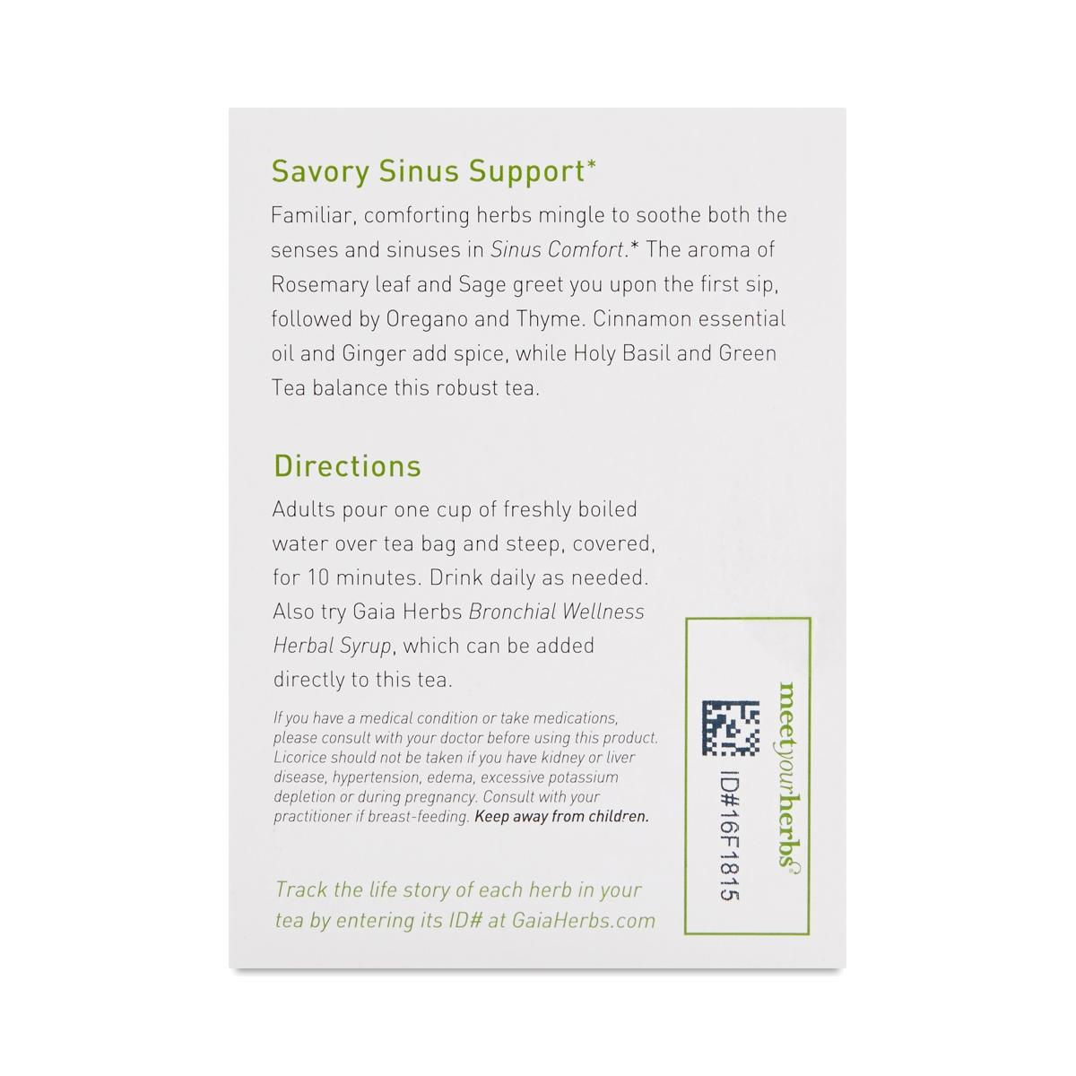 Sinus Comfort Tea