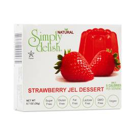 Strawberry Jel Dessert