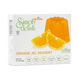 Orange Jel Dessert