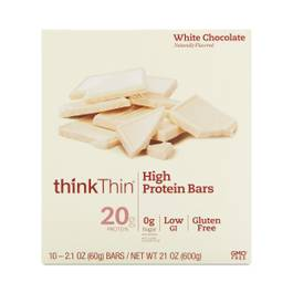 White Chocolate High Protein Bars