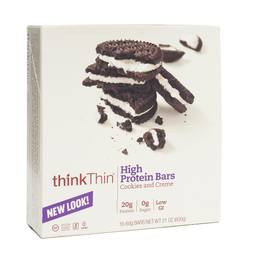 Cookies & Creme High Protein Bars