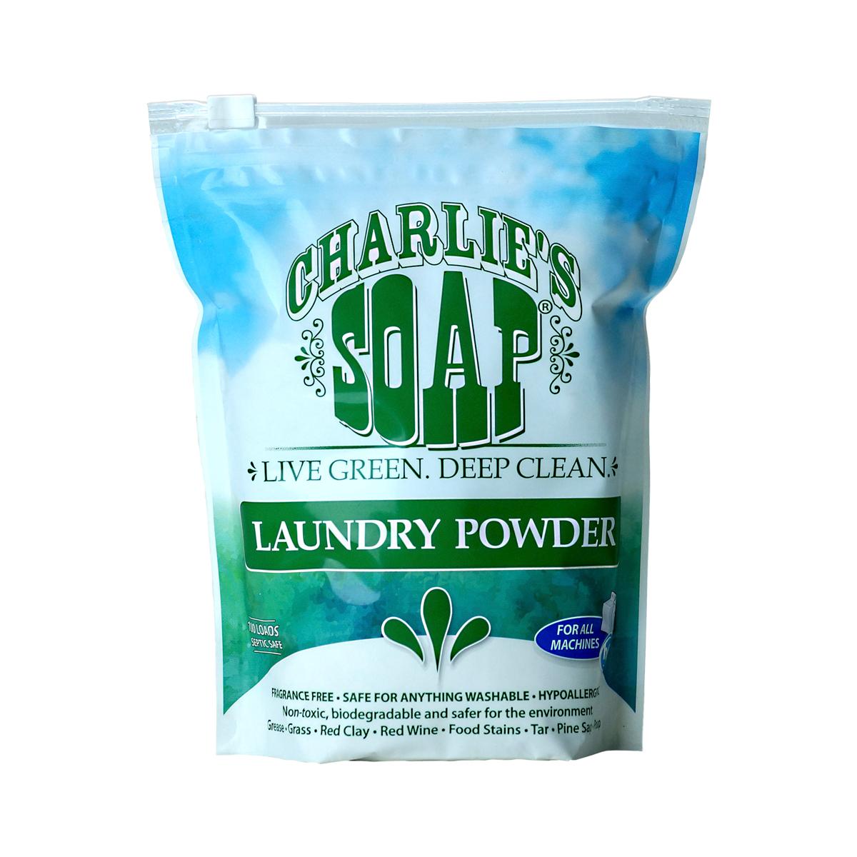 Charlie's Soap Laundry Powder