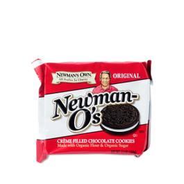 Newman O's Cookies - Chocolate Vanilla Creme