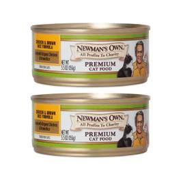 Chicken & Brown Rice Premium Cat Food, 2 Pack