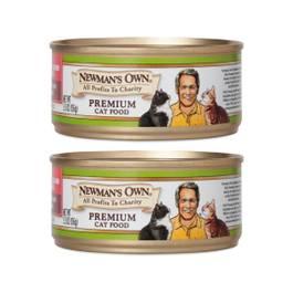 Chicken & Salmon Premium Cat Food, 2 Pack