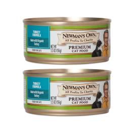 Organic Turkey Cat Food, 2 Pack