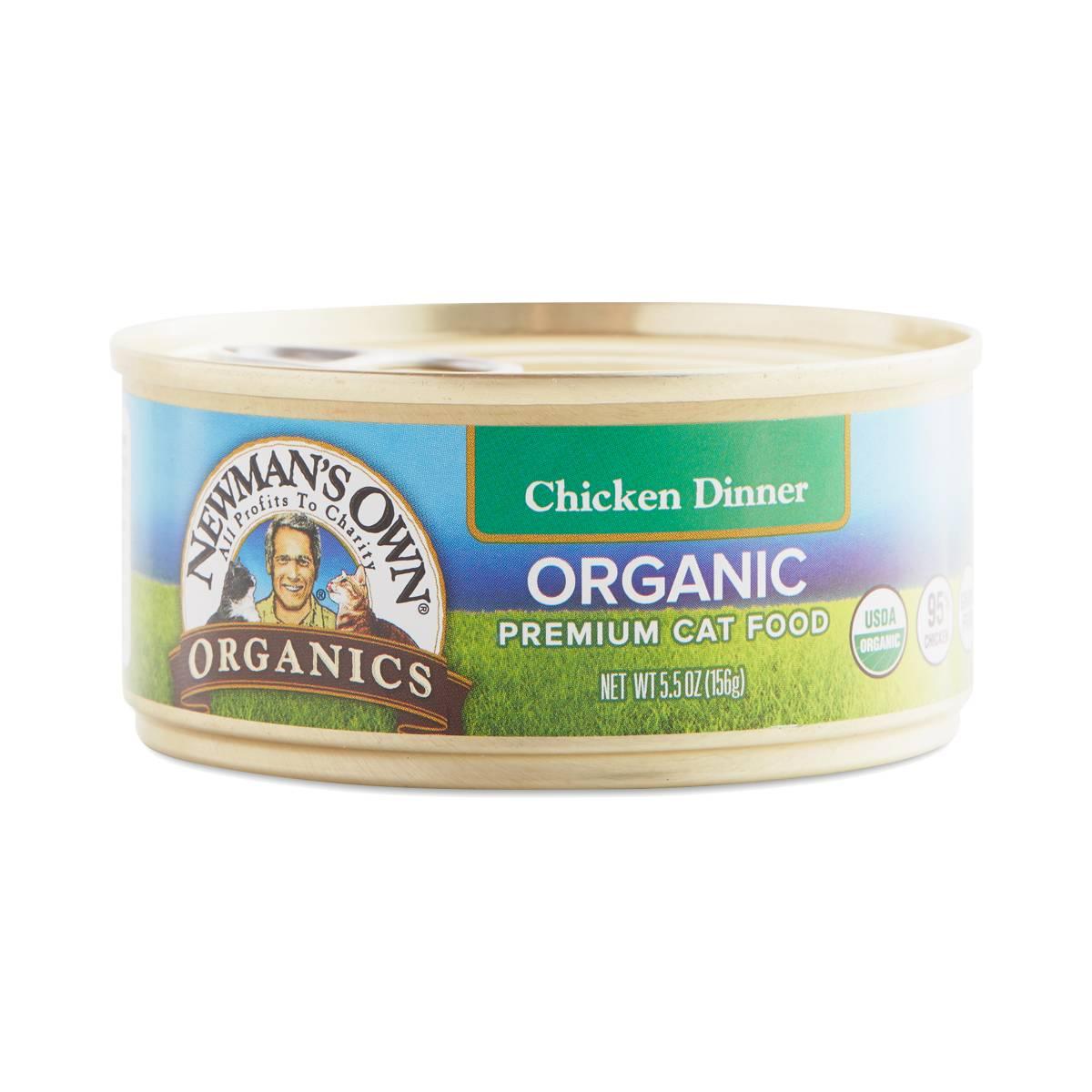 Paul Newman Organic Canned Cat Food
