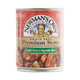 Premium Lamb, Liver & Vegetable Stew Canned Dog Food