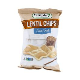 Lentil Chips Sea Salt