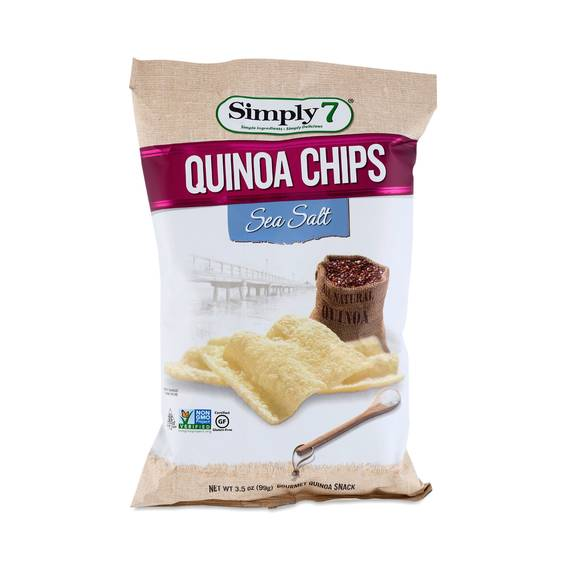 Sea Salt Quinoa Chips by Simply 7 - Thrive Market