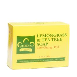 Lemongrass and Tea Tree with Orange Peel Bar Soap