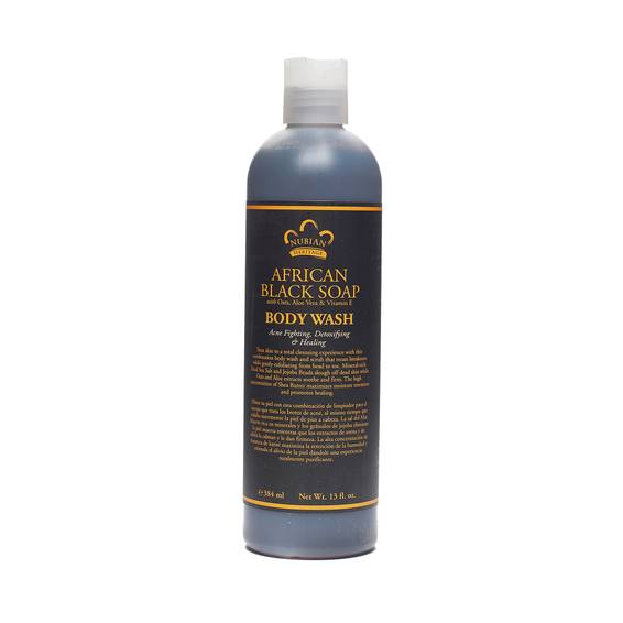 African Black Soap Body Wash and Scrub