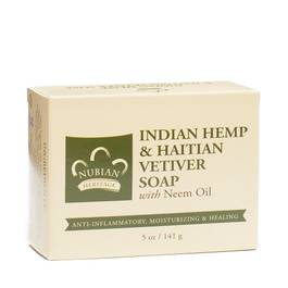 Indian Hemp and Haitian Vetiver Bar Soap
