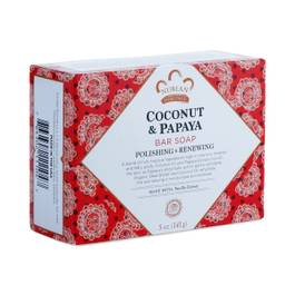 Coconut and Papaya with Vanilla Beans Bar Soap