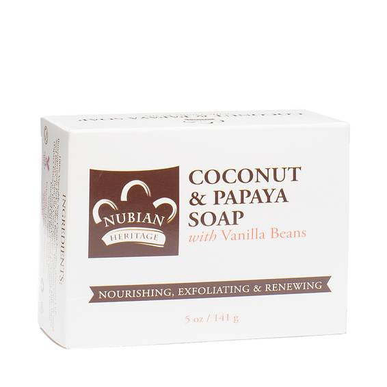 Coconut and Papaya with Vanilla Beans Bar Soap