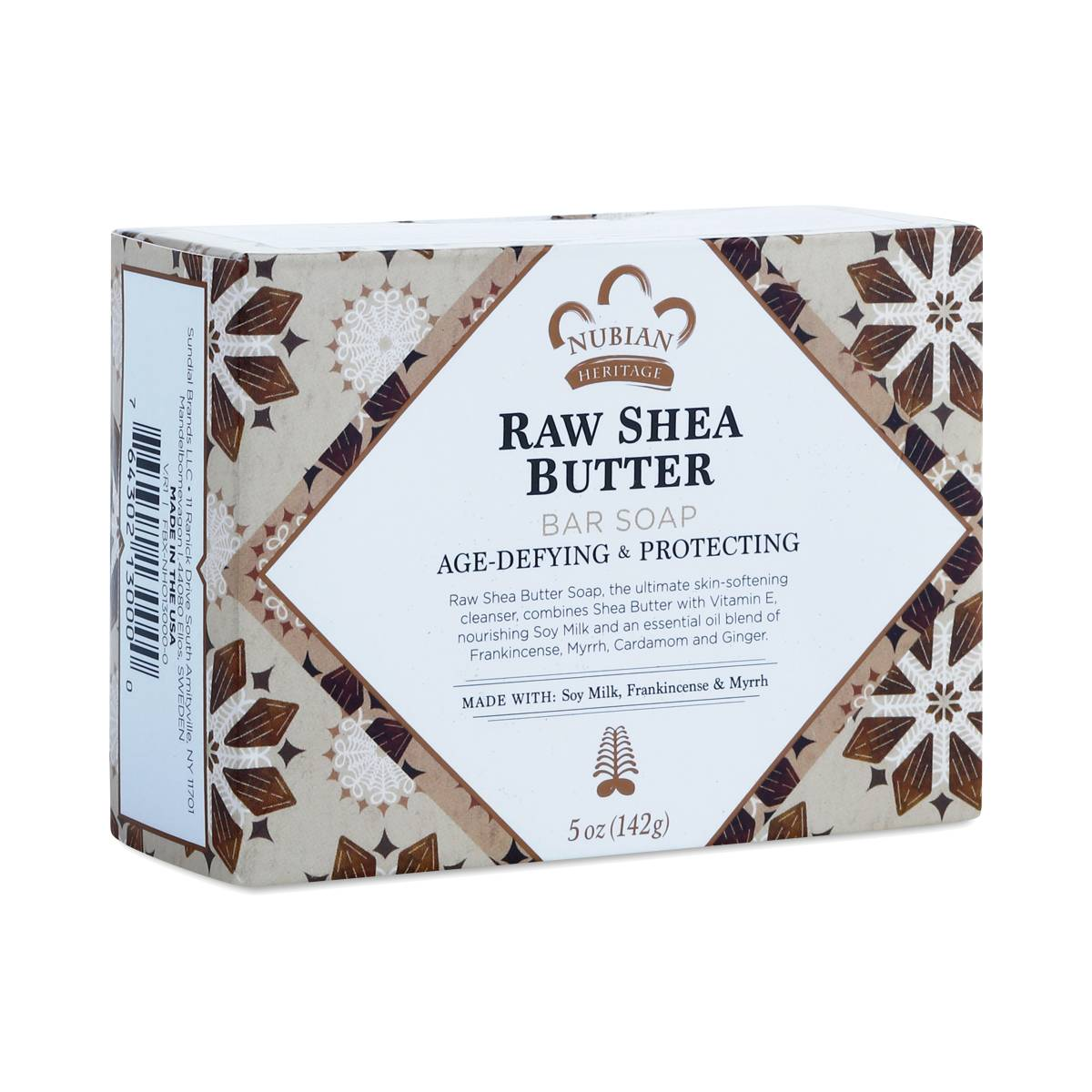 Raw Shea Butter Bar Soap By Nubian Heritage Thrive Market