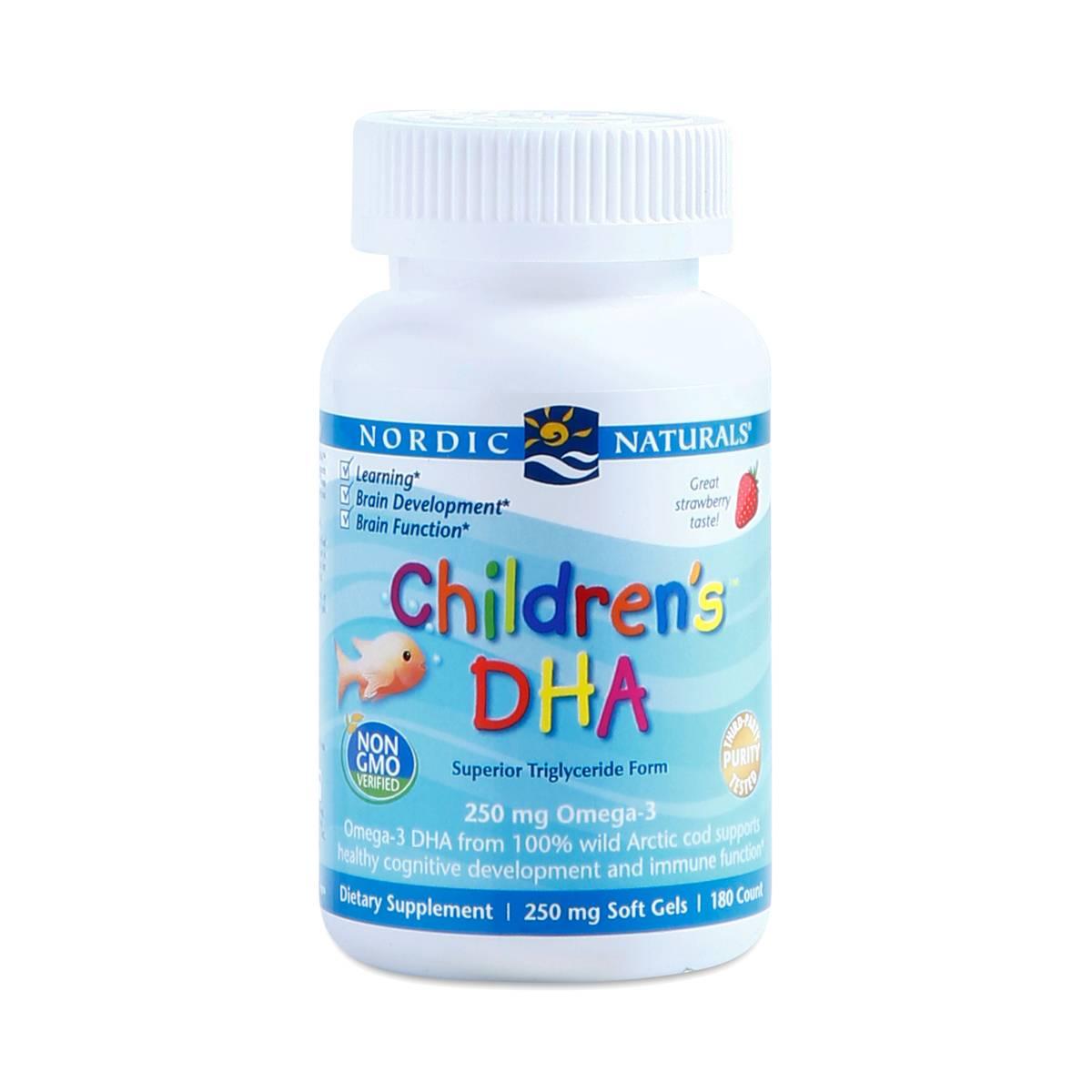Nordic Naturals Children S Dha Dosage
