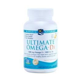 Ultimate Omega-D3, Lemon
