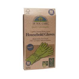 Fair Trade FSC Household Gloves Size Medium 1 pair