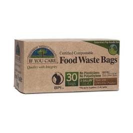 3 Gallon Compostable Food Waste Bags 30 pk