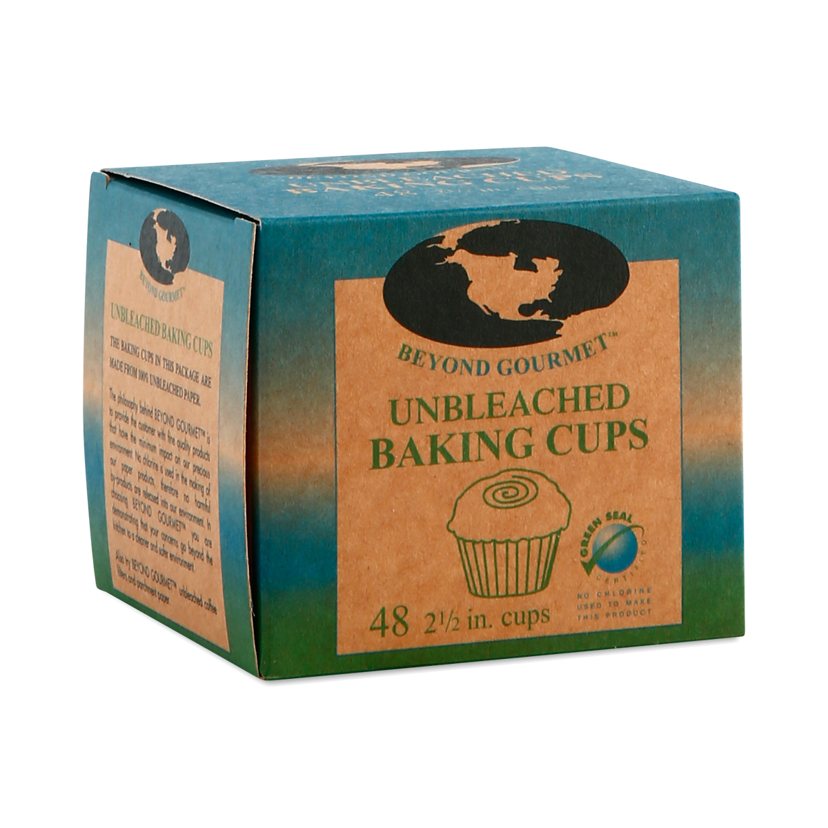 Beyond Gourmet Muffin Cups 48 Count Natural Parchment