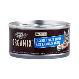 Organic Turkey, Brown Rice & Chicken Cat Food