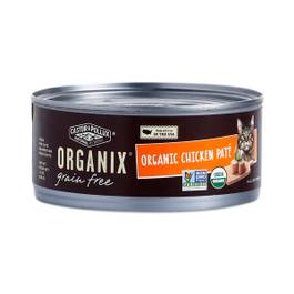 Grain Free & Organic Chicken Paté Canned Cat Food