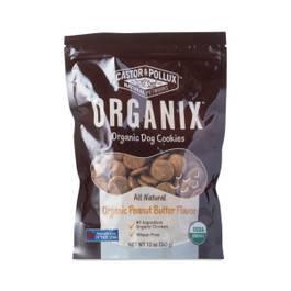 Organix Organic Dog Cookies, Peanut Butter