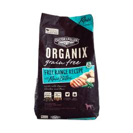 Organix Grain Free Adult Dog Food with Raw Bites