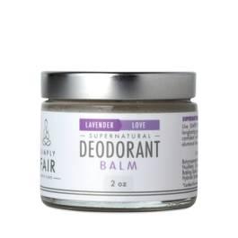 Fair Trade Coconut Oil Deodorant Balm, Lavender