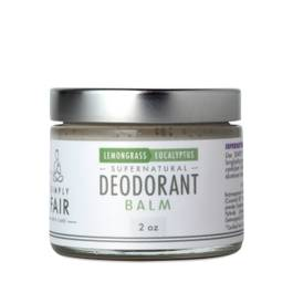Fair Trade Coconut Oil Deodorant Balm, Lemongrass