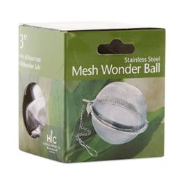 Loose Leaf Mesh Tea Ball Infuser and Strainer