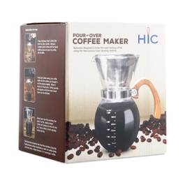 Pour-Over Coffee Maker, 22 oz