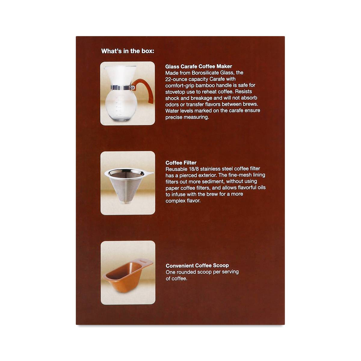 HIC Harold Import Co. Pour-Over Coffee Maker, 22 oz - Thrive Market