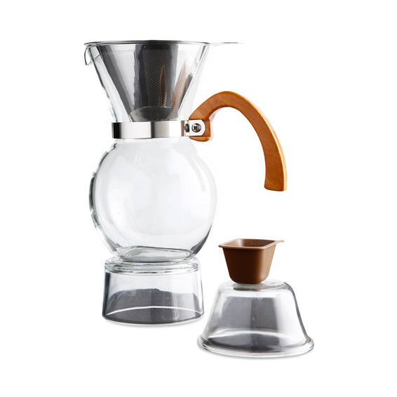Hic Pour Over Coffee Maker : HIC Harold Import Co. Pour-Over Coffee Maker, 22 oz - Thrive Market