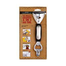 4-in-1 Bottle Opener, Can Opener and Peeler