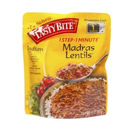 One Step One Minute Madras Lentils