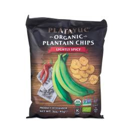 Organic Plantains, Lightly Spicy