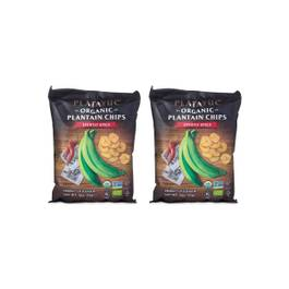 Organic Plantains, Lightly Spicy, 2 Pack