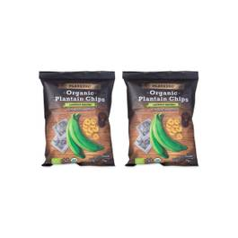 Organic Plantain Chips, Lightly Salted, 2 Pack
