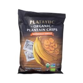 Organic Plantain Chips, Naturally Sweet