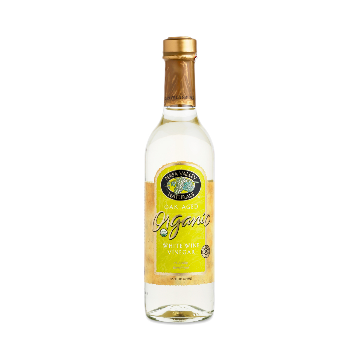 Napa Valley Naturals Organic White Wine Vinegar 12.7 oz bottle